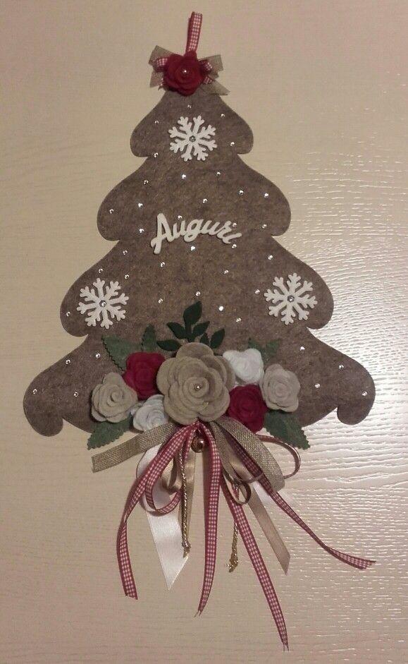 Felt Christmastree