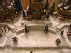 59 best Christmas Village images on Pinterest   Christmas villages ...