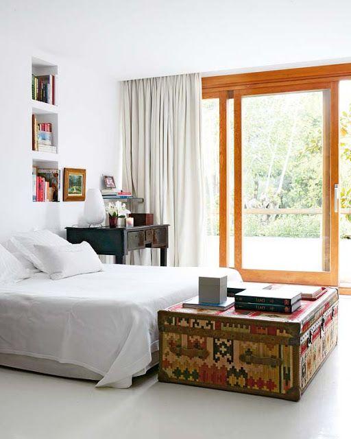 PIE DE CAMA BAUL BANQUETA para realzar el estilo al dormitorio : Dormitorios: Fotos de dormitorios Imágenes de habitaciones y recámaras, Diseño y Decoración