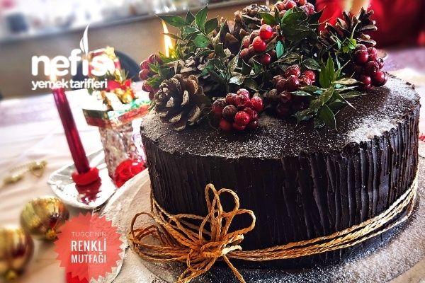 Pratik Kütük Pasta Tarifi (Yeni Yıl Özel)