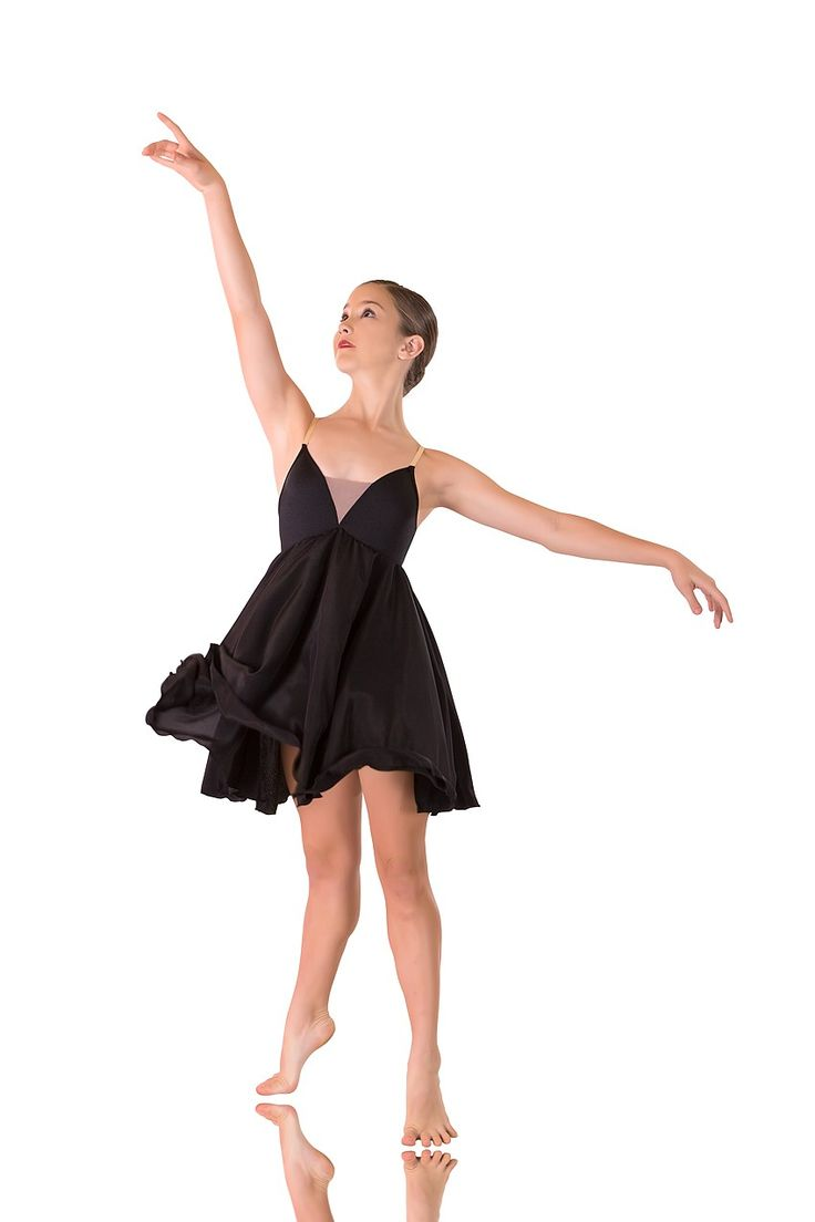 Slow Modern Dress - Diamond Dance Costume - Lyrical Dress