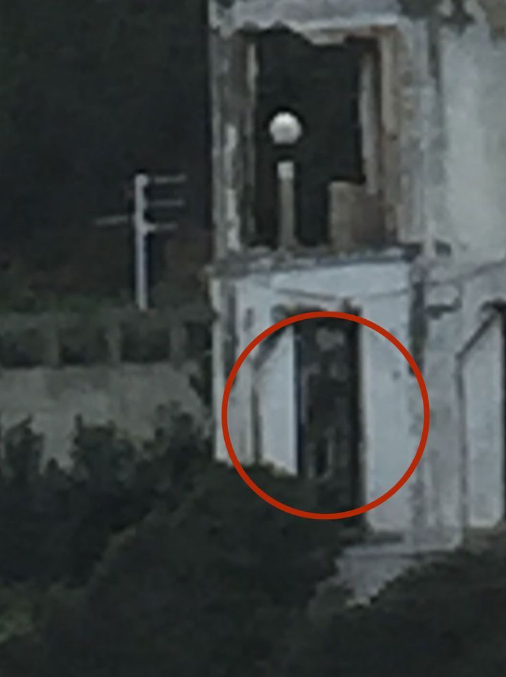 Real Ghost Pictures: The Watching Shadow Man of Alcatraz: