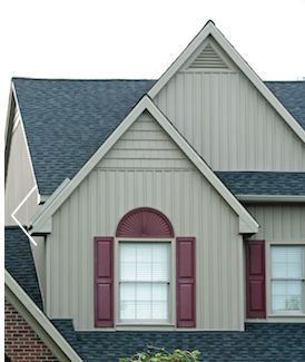 Vertical vinyl house siding kaycan board batten vinyl for Vertical siding options