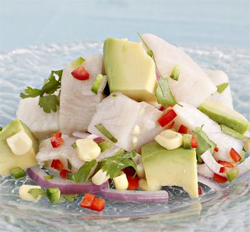 Seafood Made Simple® - Recipe for Tilapia Ceviche.