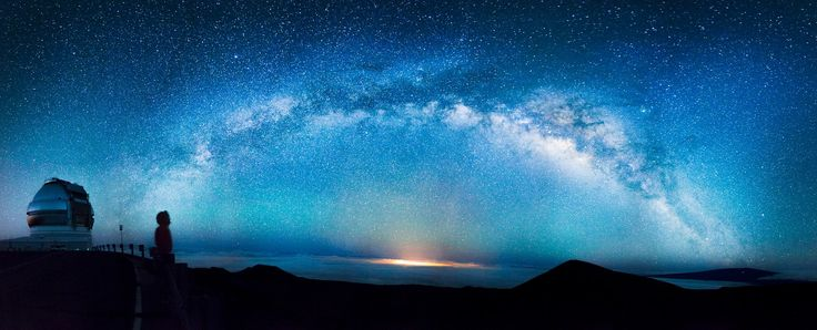 Milky Way as seen from the top of Mauna Kea - Imgur