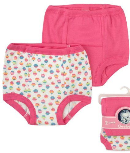 Pin it! :) Follow us :)) zBabyBaby.com is your Baby Gallery ;) CLICK IMAGE TWICE for Pricing and Info :) SEE A LARGER SELECTION of baby potty training at http://zbabybaby.com/category/baby-categories/baby-potty-training/ - baby, infant, nursery, baby shower, baby stuff, baby gear, toddler, toddler stuff, potty training -  Gerber Training Pants 3T Girl 4 pack 32-35 pounds 2012