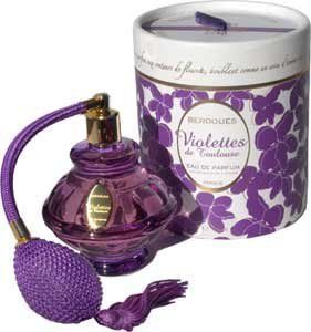 Berdoues Parfums Paris Violettes de Toulouse Eau de Parum by Violettes de Toulouse. $230.00. Product DescriptionThe fragrance Violettes de Toulouse is a unique scent directly issued from France. The Eau de Parfum is a higher concentration and single note , with only flowers' extracts and less alcohol. This parfum comes from the city of Toulouse (South West France), which is known for growing the best quality Violets in the world for perfumery use. Eau de Perfum spray 80 ml wit...