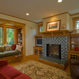 Mission Living Room Design, Pictures, Remodel, Decor and Ideas