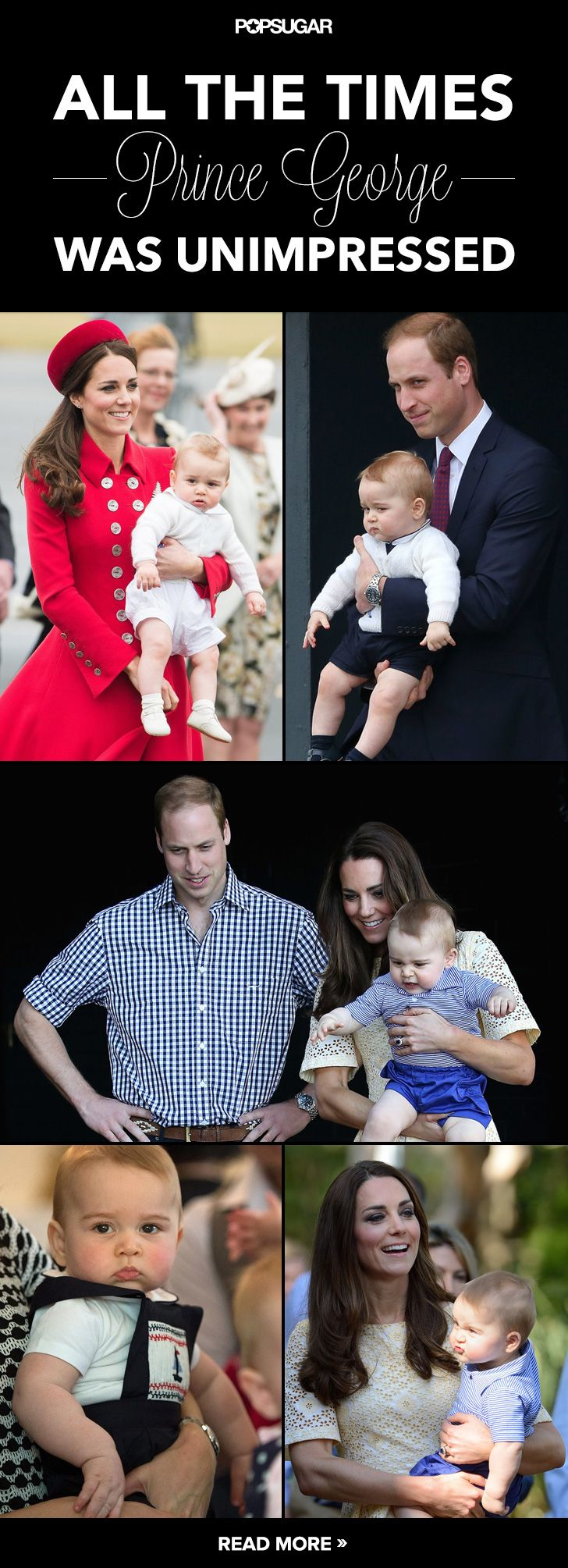 When Prince George is not amused, he's not afraid to show it. And it's hilarious.