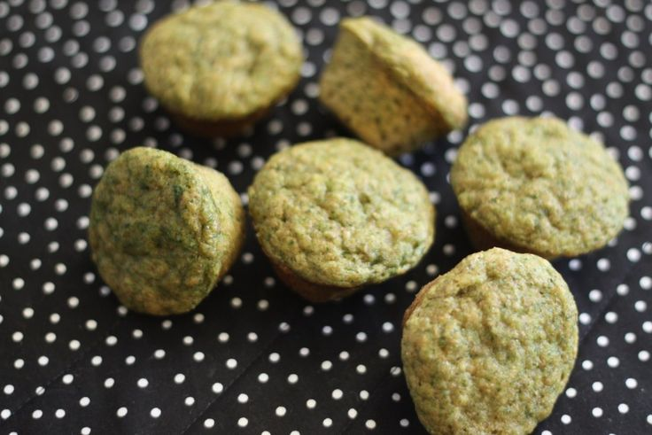 super spinach cupcakes