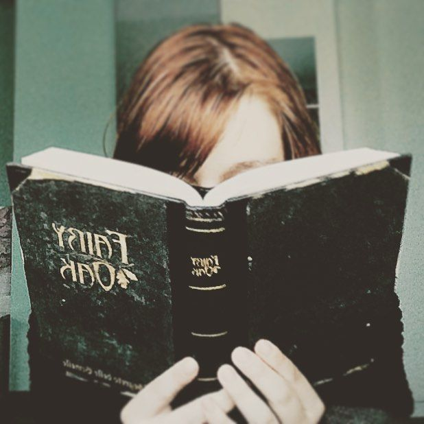 Jokes on you I haven't read a book in ages #girl #iwasfeelingmoritoday #book #fairyoak #imgonnarereadthatsoon