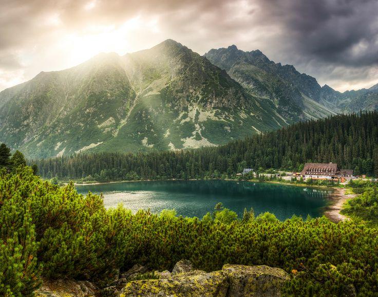 Poprad Pond, High Tatras, Slovakia (by Karol Czinege)