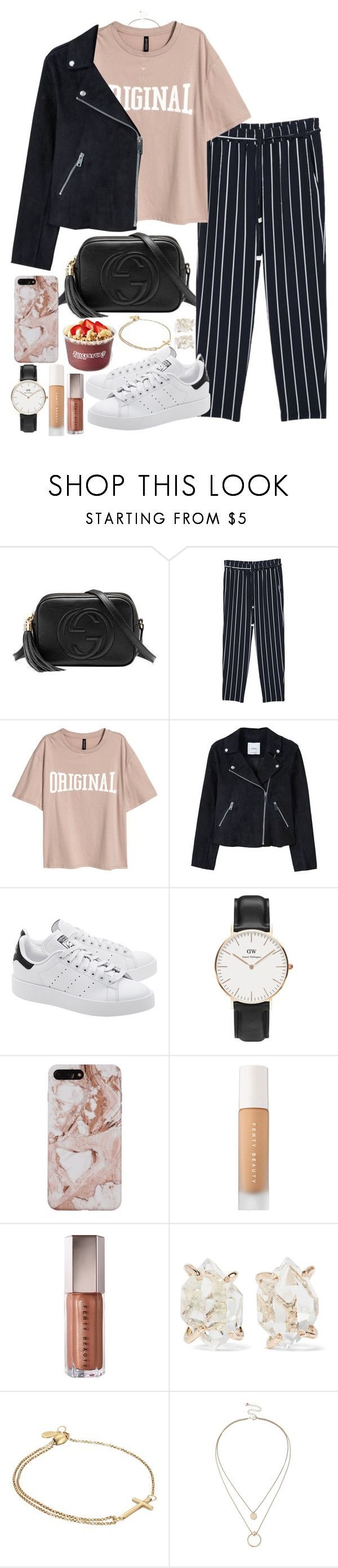 """original"" by valerienwashington ❤ liked on Polyvore featuring Gucci, MANGO, adidas Originals, Daniel Wellington, Puma, Melissa Joy Manning, Alex and Ani, Sole Society and MyFaveTshirt"