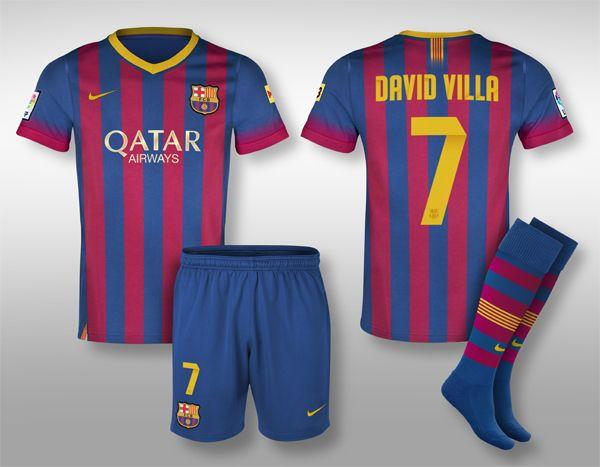 Conceptual Barcelona Kit Design