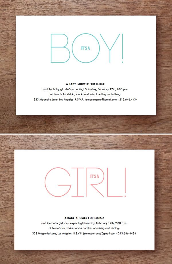 Printable Baby Shower Invitation Itu0027s A
