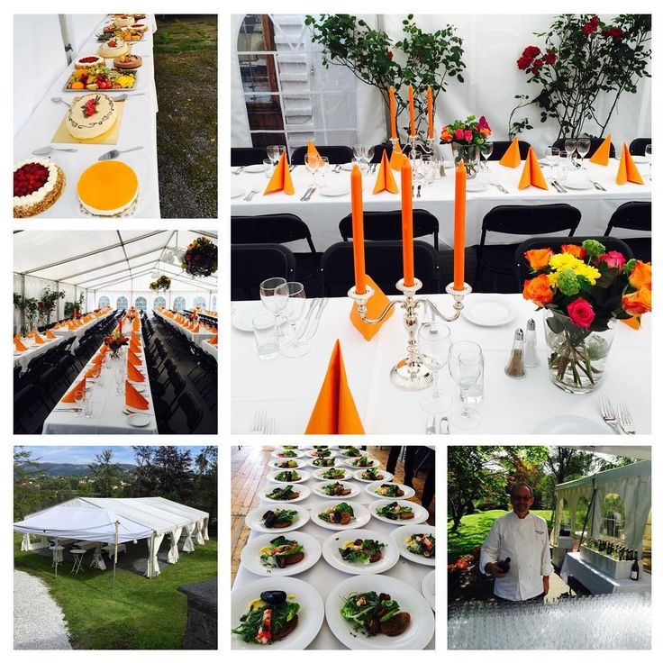 Fana Catering Og Selskapsservice — Hage Party telt og grill hyggelige gjester og...
