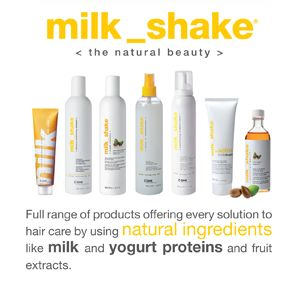 professional hair care products made with milk protein