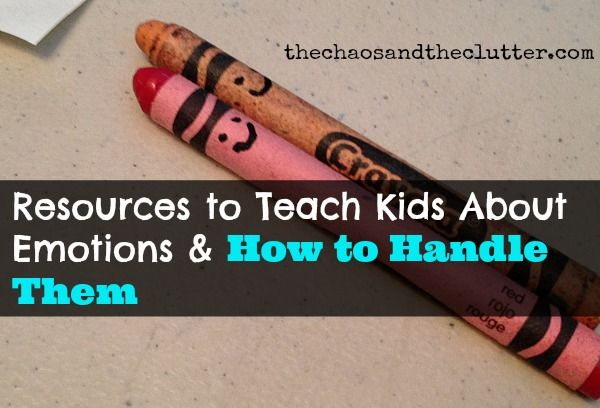 Resources to Teach Kids About Emotions & How to Handle Them