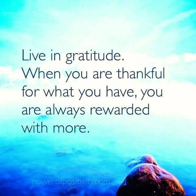 Gratitude is the antidote to misery. You can experience greater joy, abundance and happiness in life when you have the attitude of gratitude. Read: 32 Ways For A Stunning Great Life, Success, Wealth and Abundance