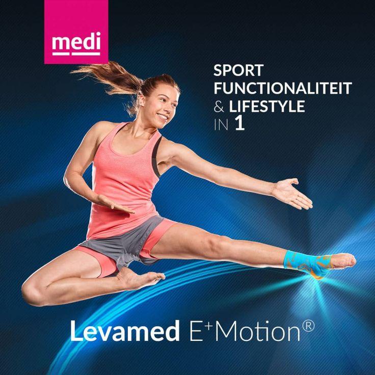 Levamed E+Motion enkelbandage online kopen bij Disporta - Disporta Eerstelijn B.V.