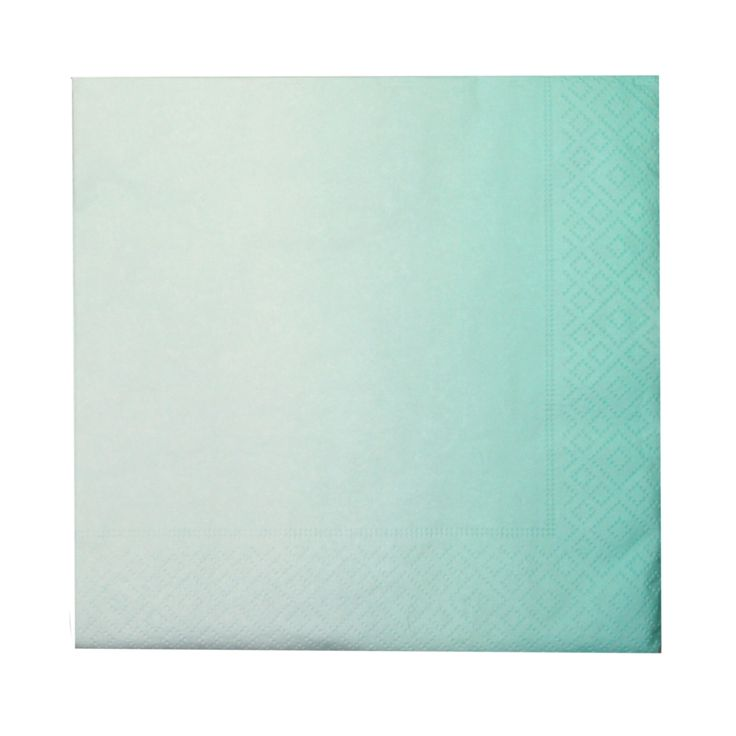 Servietter Gradient mint