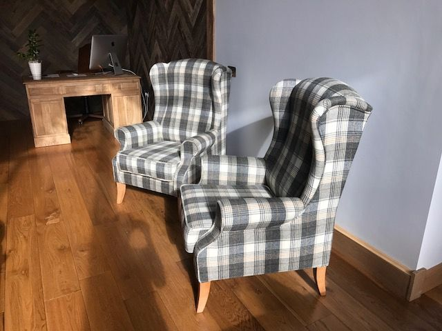 Our elegant Knightsbride Chairs in the fabulous Huntington Moon fabric. http://www.thechairpeople.co.uk/search.php?searchword=knightsbridge