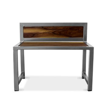 Jager Desk (front), NW-Natural Walnut, 915-Silver Vein