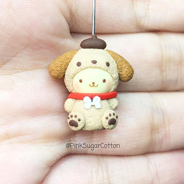 DESCRIPCIÓN EN ESPAÑOL ABAJO  • Hi everyone!!! Here it is, my first post of the year! It's pompompurin wearing a dog costume for the year of the dog! And yes, I know he's already a dog, but I saw these plushies and I couldn't resist to make one with clay!! What are you btw? I'm a dragon ❤️ Hope you all are having a fantastic start to the year  • Hola a todos! Aquí está mi primer post para este año, es pompompurin usando un disfraz de perrito! Y aunque el ya es un perro, vi la vers...