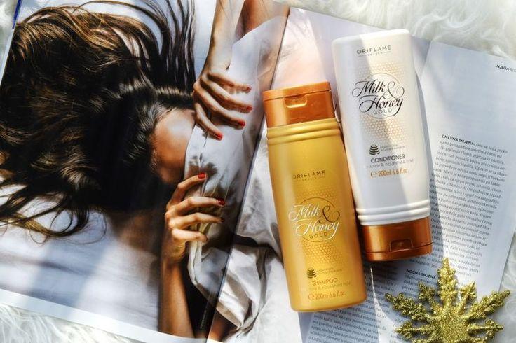 Oriflame Milk & Honey Gold | Hair Edition