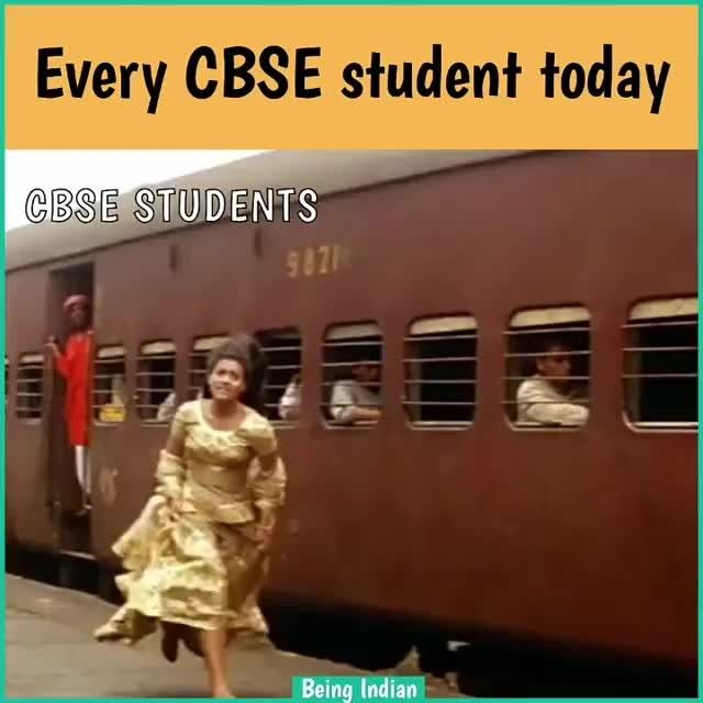 From @beingind CBSE waalon yahi hua naa aaj? . . . .  #beingindian #hahaha #lol #rofl #humour #funnymeme #instapost #instameme #indians #lmao #funny #videomeme #funnyvideo #meme #videos #school #cbse #exams #results #ddlj #srk #90s #bollywood #jokes #hilarious #quotes #devilzsmile #happy #memes #instafunny