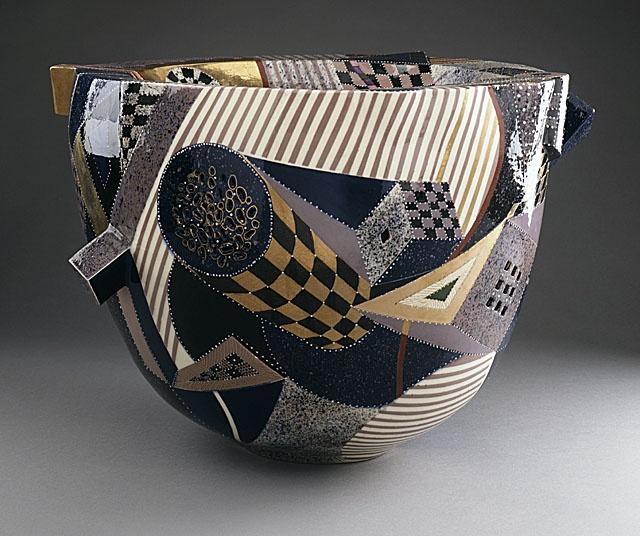 Ralph Bacerra  1988 |  LACMA Collections OnlineCeramics Art, Ceramics Pottery, 1988 Ceramics, Ralph Bacerra, Bacerra Drums, Drums Bowls, Art Ceramics, Bacerra 1988, Ceramics Bowls