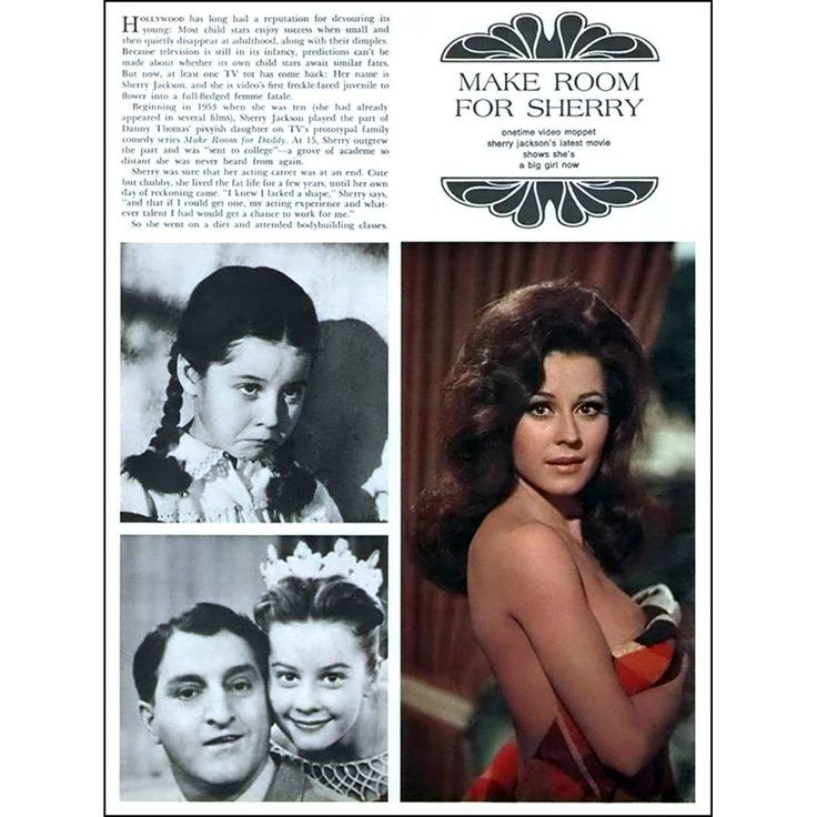 "2 Likes, 1 Comments - Celebrating Sherry Jackson! (@sherry.jackson.fan) on Instagram: ""A page from Playboy magazine."""