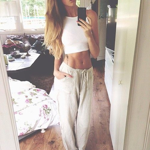 lazy sweatpants outfit - photo #21