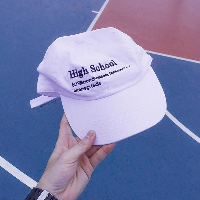 I wish I had this hat back in high school