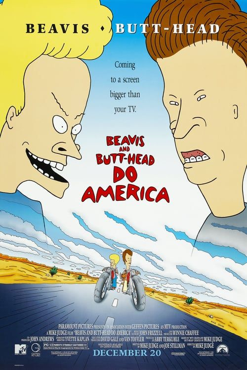 Watch->> Beavis and Butt-Head Do America 1996 Full - Movie Online