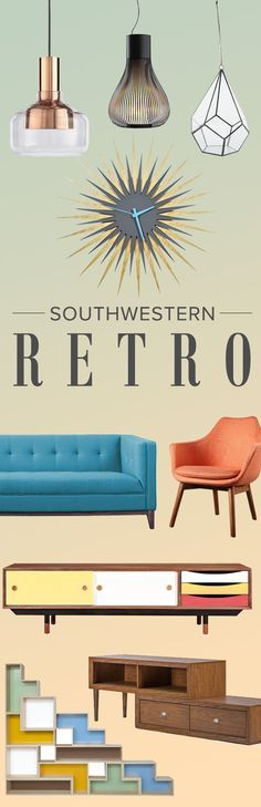 Dreaming of your favorite decade? Step back to the '70s style showdown: Southwest meets mid-century mod. Find all of your Southwestern Retro essentials at AllModern. Visit today and sign up for exclusive access to sales plus FREE SHIPPING on orders over $49.