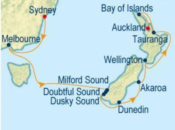 New Zealand Celebrity Cruises cruise
