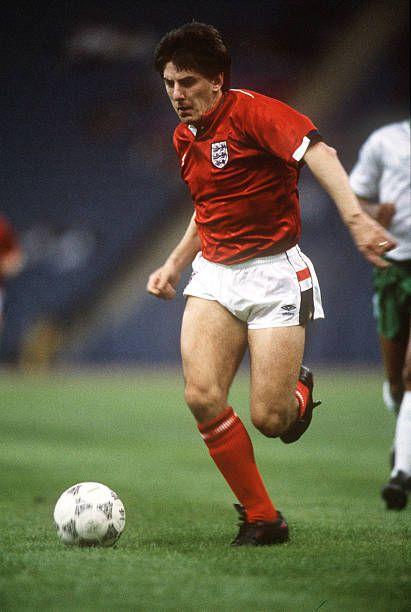 Peter Beardsley of England in 1989.