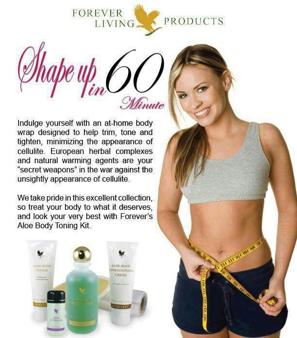 A Body Wrap Toning kit available at http://www.be-forever.de/aloevera-wellness-shop/