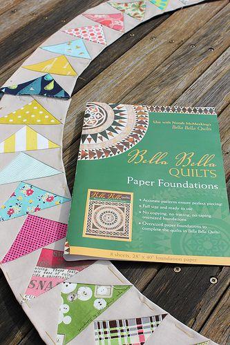 Paper piecing book