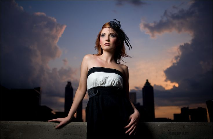 Great shot by Zack Arias: Awesome framing with the clouds and buildings.Photos, Portraits Senior Photography, Lauren Zackaria, Zackaria Onelight, Photography Reviews, Beach Photography, Zack Aria, Digital Photography, Aria Portraits