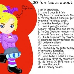interesting facts about me Cool and weird fun facts about our everyday lives that everyone should know  check out this collection of 155 amazing, funny and unbelievable facts  the  facts just got me thinking that there's just more than what i can imaginekeep up .