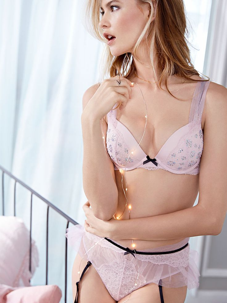 Lace  Tulle Push-Up Bra - Dream Angels - Victorias -5025