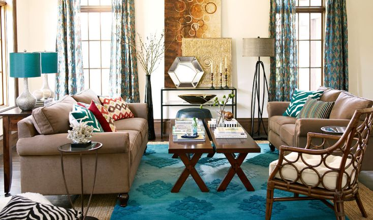 glamorous pier one living room | Room Gallery: Design Ideas from our Interior Designers ...