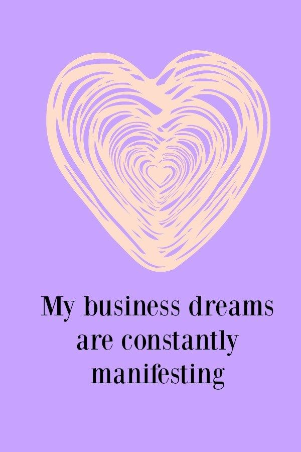 This is a fantastic business affirmation to help make you a positive match for…