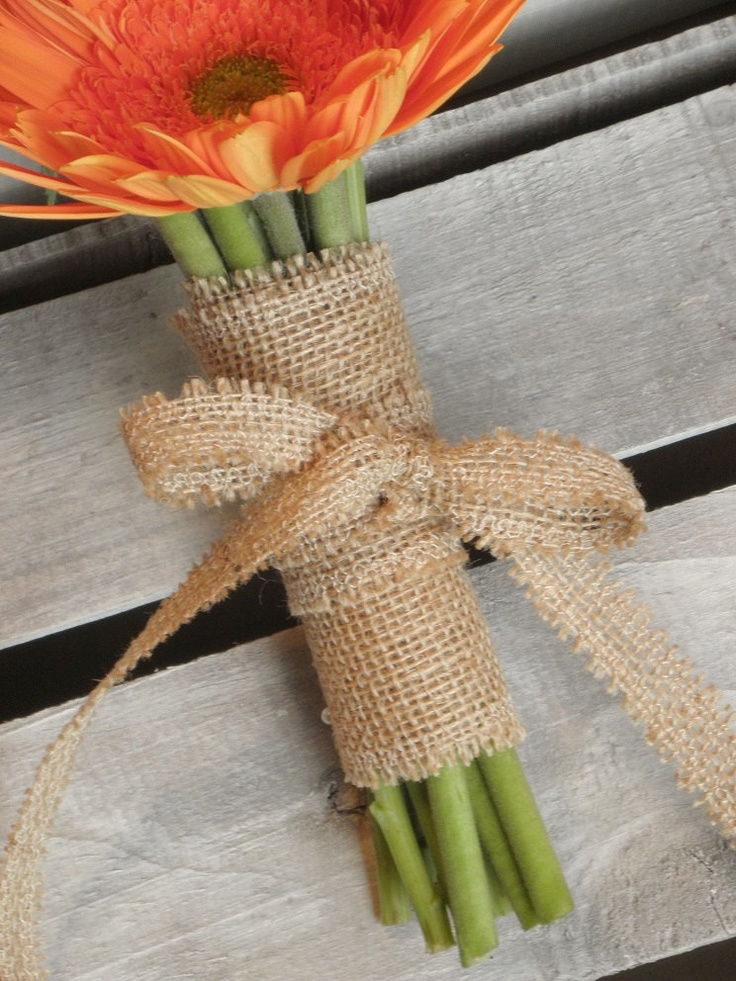 Burlap RibbonChoose the Color5yds width 75 4 by theartsyhippie, $10.00