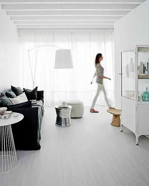 Welkom in de vtwonen huiscollectie: kliklaminaatvloeren Loft Krijt en Grafiet.