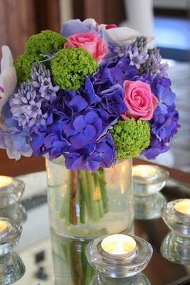 Royal Blue & Pink Wedding