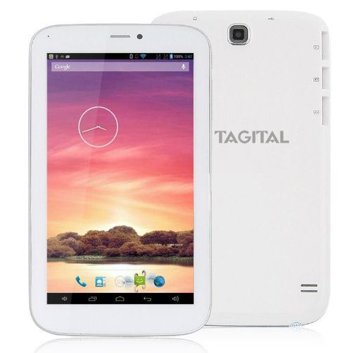 "Tagital® 7"" Dual Core Android 4.2 Bluetooth Phone Tablet Phablet GSM Dual Sim Dual Camera Unlocked Play Store Pre-installed - http://www.rekomande.com/tagital-7-dual-core-android-4-2-bluetooth-phone-tablet-phablet-gsm-dual-sim-dual-camera-unlocked-play-store-pre-installed/"