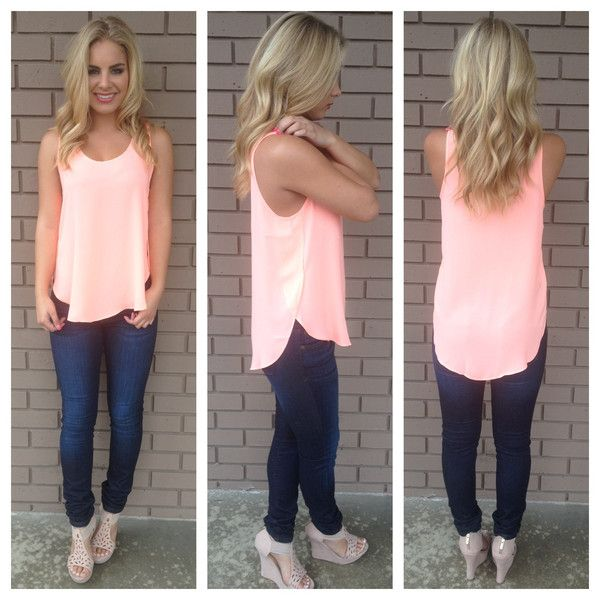 25  best Coral top ideas on Pinterest | Coral top outfit, Nude ...